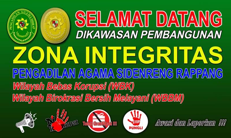 Zona Integritas PA Sidrap